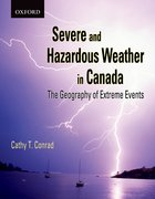 Cover for Severe and Hazardous Weather in Canada