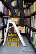 Cover for The Sociology of Education in Canada