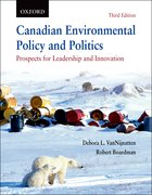 Cover for Canadian Environmental Policy and Politics