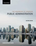 Cover for The Handbook of Canadian Public Administration
