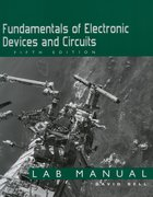 Cover for Fundamentals of Electronic Devices and Circuits Lab Manual