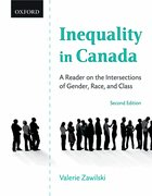 Cover for Inequality in Canada