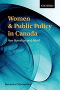 Cover for Women and Public Policy in Canada