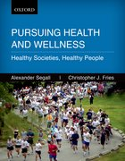 Cover for Persuing Health and Wellness