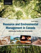 Cover for Resource and Environmental Management in Canada