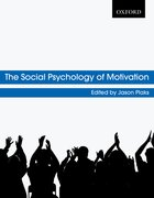 Cover for The Social Psychology of Motivation