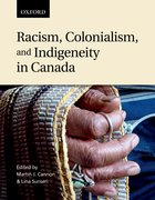 Cover for Racism, Colonialism, and Indigeneity in Canada
