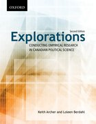 Cover for Explorations