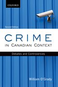 Cover for Crime in Canadian Context