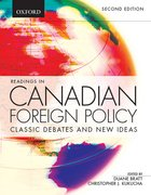 Cover for Readings in Canadian Foreign Policy