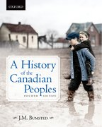 Cover for A History of the Canadian Peoples 4e