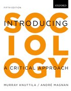 Cover for Introducing Sociology A Critical Approach, 5e