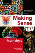 Cover for Making Sense in Psychology