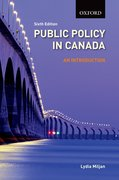 Cover for Public Policy in Canada An Introduction, 6/e