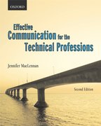 Cover for Effective Communications for the Technical Professions