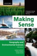 Cover for Making Sense in Geography and Environmental Sciences