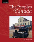 Cover for The Peoples of Canada: A Post-Confederation History