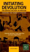 Cover for Initiating Devolution for Service Delivery in Pakistan