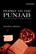 Cover for Permit to the Punjab