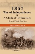 Cover for 1857 War of Independence or a Clash of Civilizations?