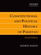 Cover for Consitutional and Political History of Pakistan