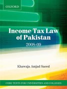 Cover for Income Tax Law of Pakistan 2008-9