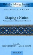 Cover for Shaping a Nation