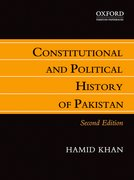 Cover for Constitutional and Political History of Pakistan