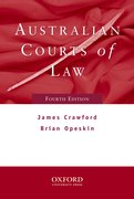 Cover for Australian Courts of Law