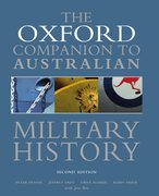 Cover for Oxford Companion to Australian Military History