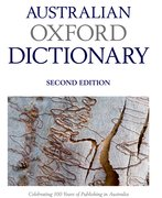Cover for Australian Oxford Dictionary
