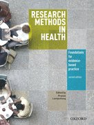 Cover for Research Methods in Health
