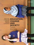Cover for Education, Change and Society