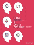 Cover for Ethical Practice in Applied Psychology