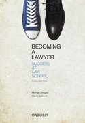 Cover for Becoming a Lawyer: Success at Law School