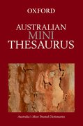 Cover for Australian Mini Thesaurus