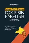 Cover for Papua New Guinea Study Dictionary Tok Pisin