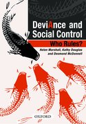 Cover for Deviance and Social Control