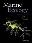 Cover for Marine Ecology