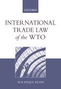Cover for International Trade Law of the WTO