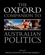 Cover for Oxford Companion to Australian Politics