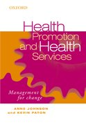 Cover for Health Promotion and Health Services