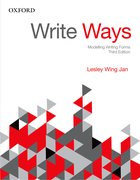 Cover for Write Ways