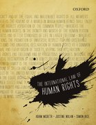 Cover for The International Law of Human Rights