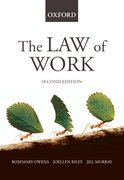 Cover for The Law of Work