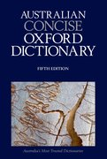 Cover for Australian Concise Oxford Dictionary 5th Edition