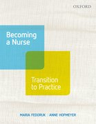 Cover for Becoming A Nurse: