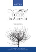 Cover for The Law of Torts In Australia