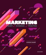 Cover for Marketing: Theory, Evidence, Practice