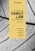 Cover for Australian Family Law: The Contemporary Context